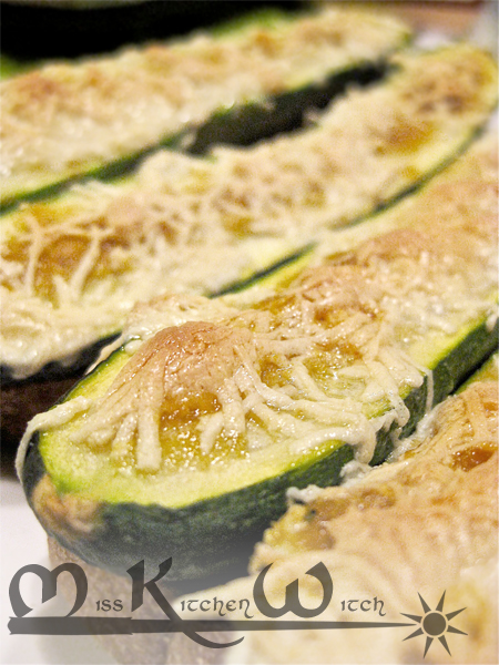Baked Farmhouse Courgettes
