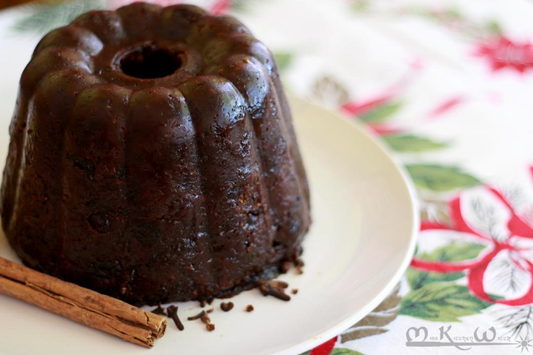 Gateau plum pudding
