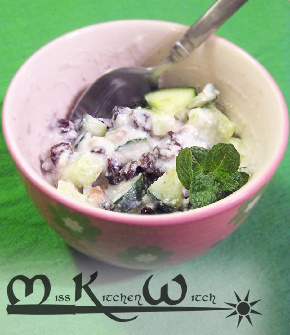 Vegan Cucumber Raita