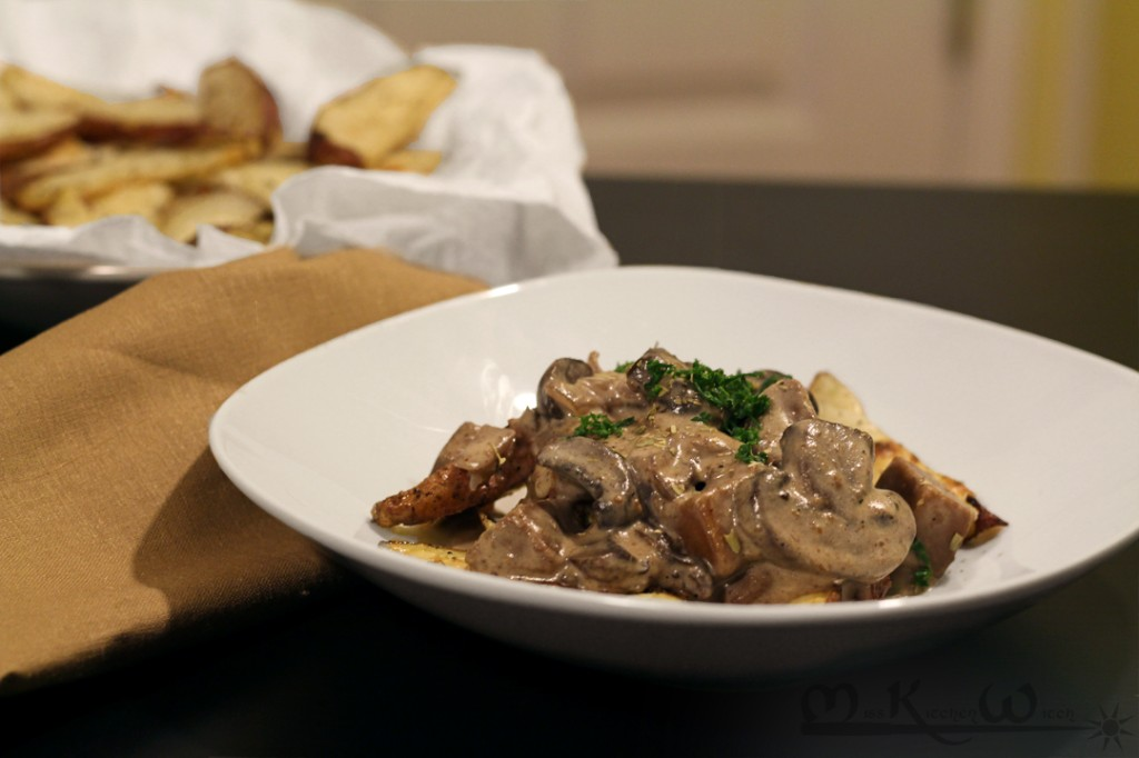Vegan Seitan Beef and Mushroom Stroganoff | The Miss Kitchen Witch ...