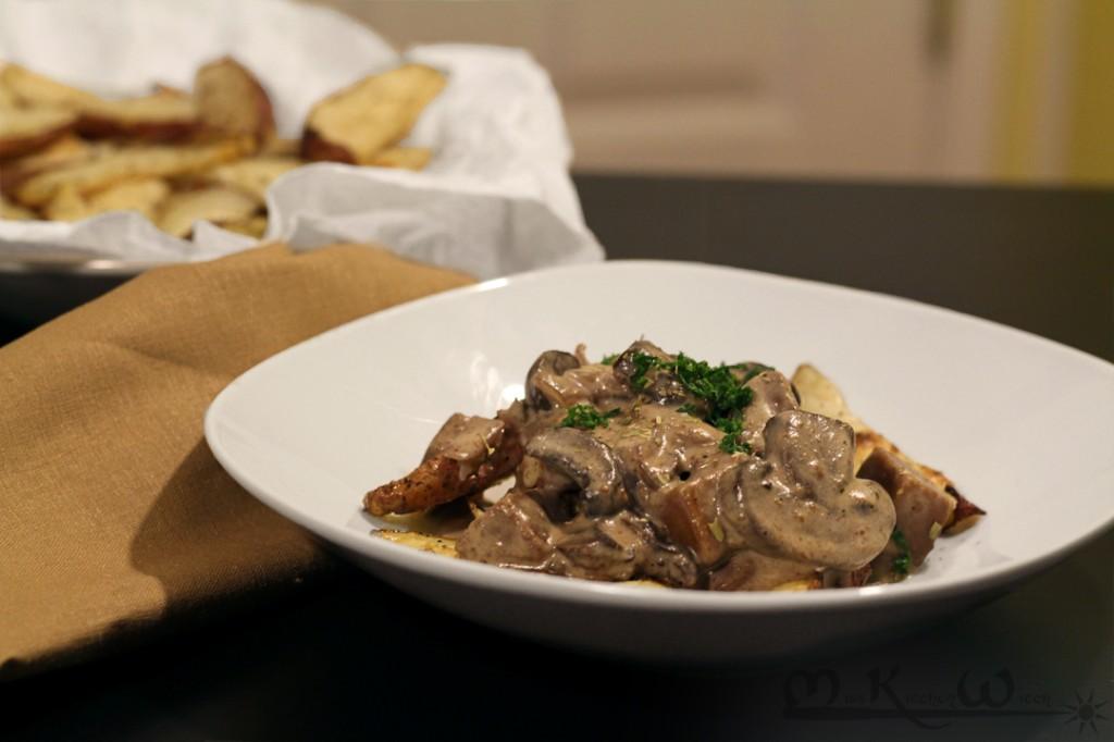 Vegan Seitan Beef and Mushroom Stroganoff | The Miss ...
