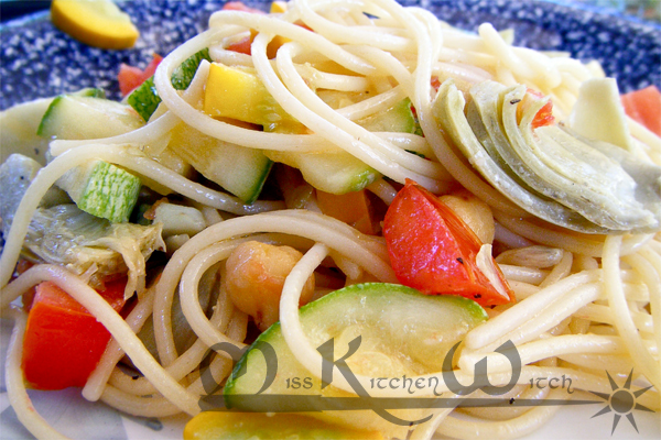 Cool Summer Veggie Pasta