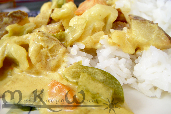 Yellow Curry in a Hurry