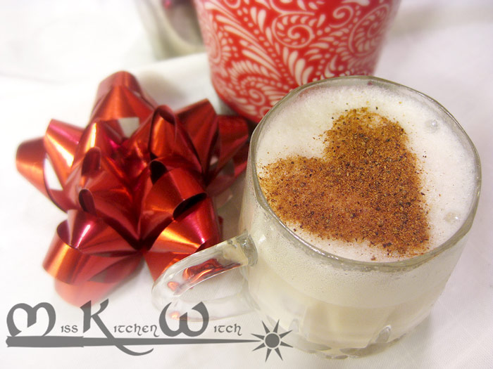 Vegan Brandy Milk Punch