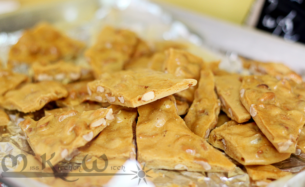 Perfect Vegan Peanut Brittle