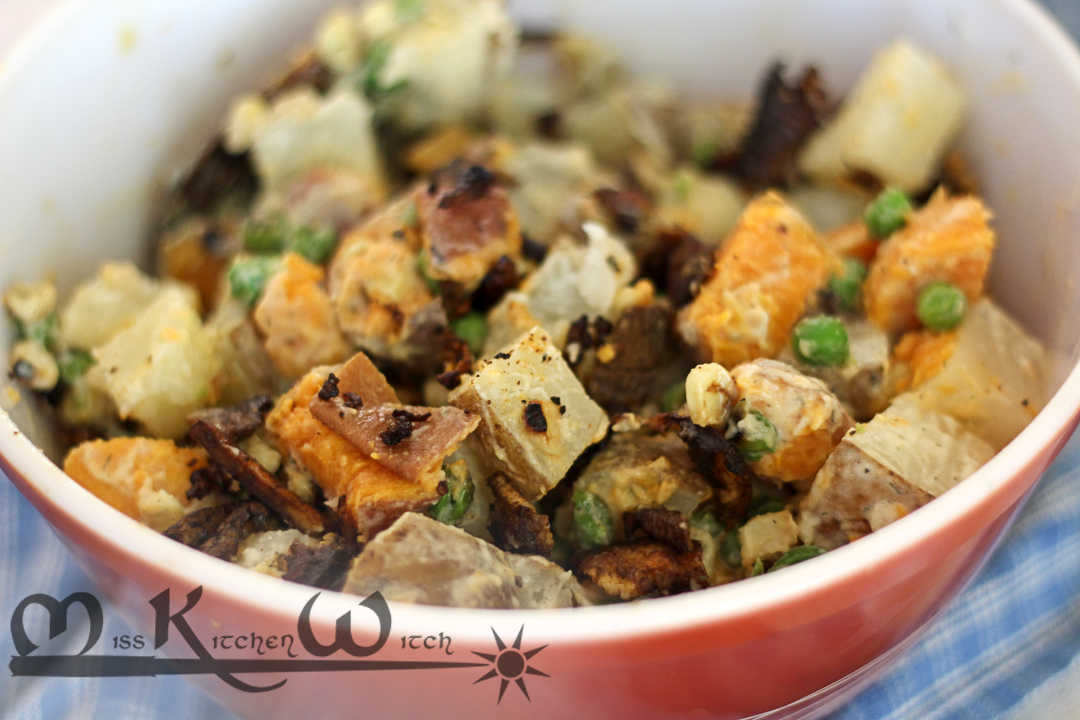Southwest Vegan Potato Salad