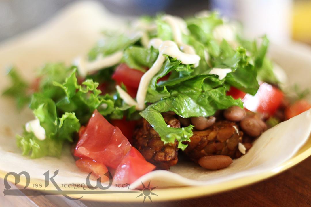 Tasty Vegan Tempeh Taco Filling