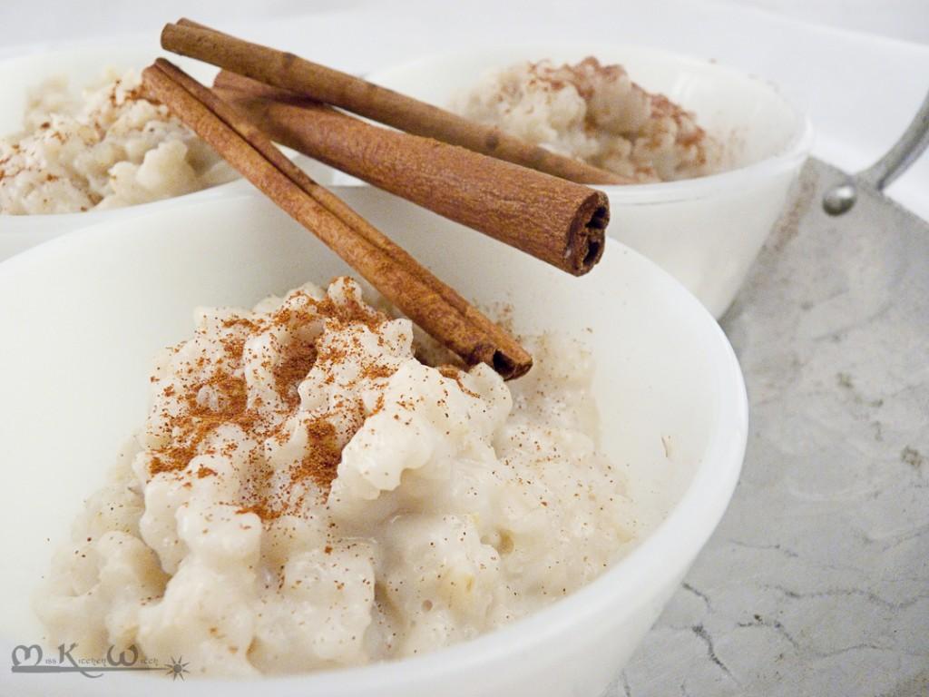 Vegan Spanish Rice Pudding   The Miss Kitchen Witch Recipe Blog