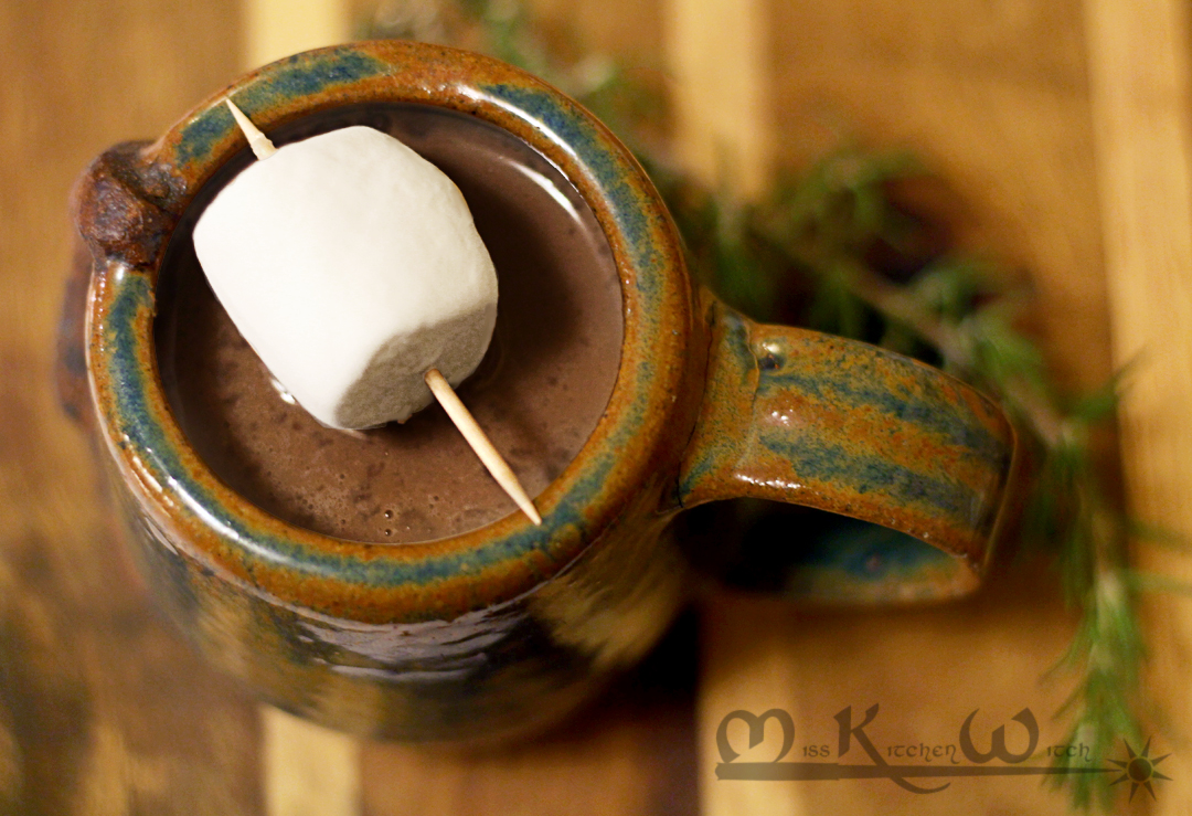 Vegan Spiked Hot Chocolate