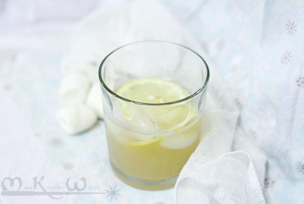Lemon Meringue Pie Cocktail with Marshmallow Vodka