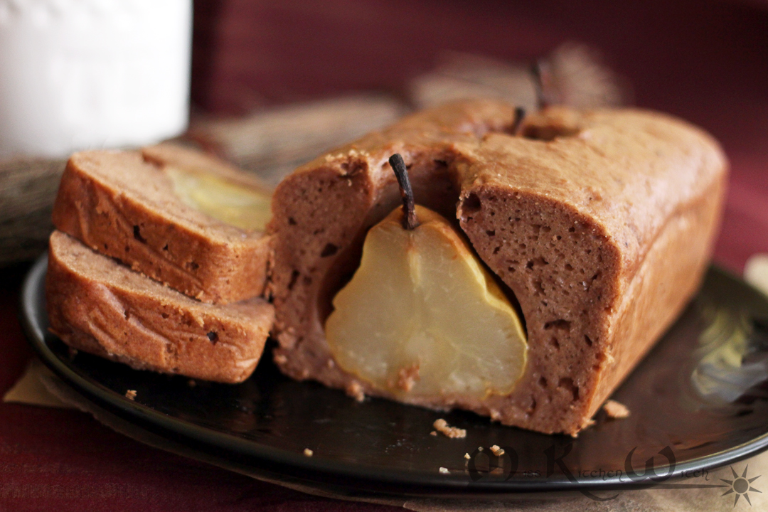 European Cocoa Pear Bread