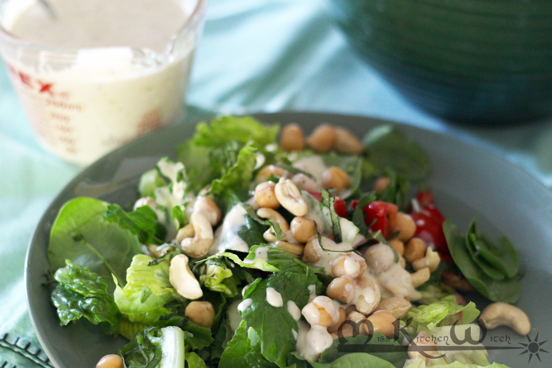 Protein-Packed Vegan Ranch Dressing