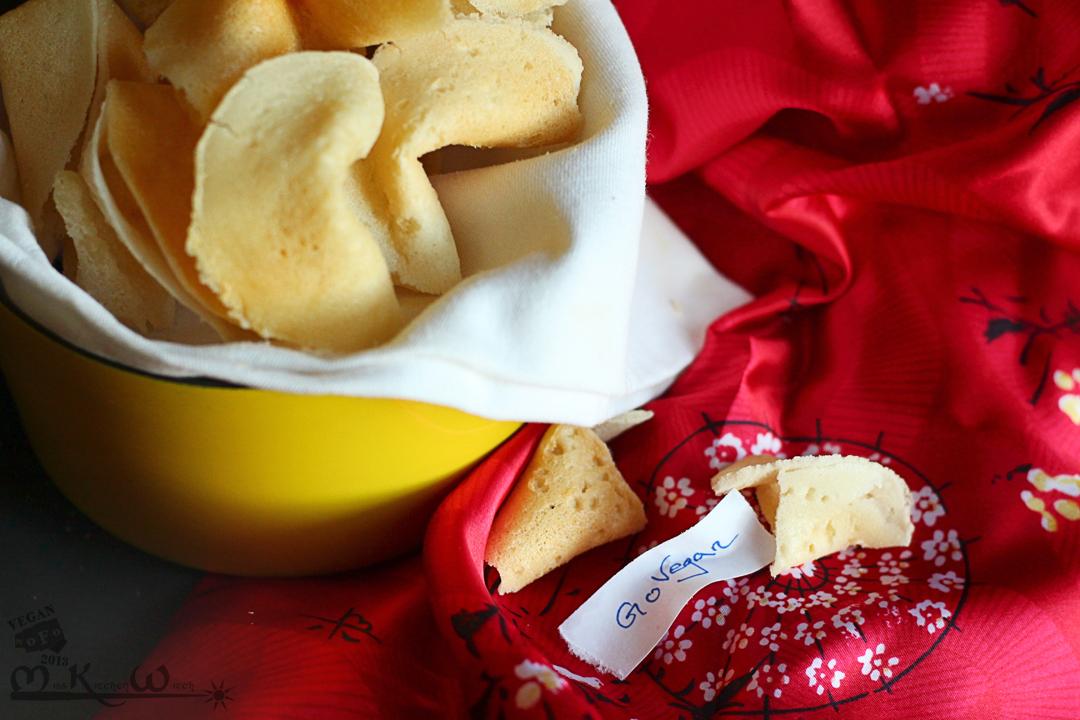 Gluten-Free Vegan Fortune Cookies