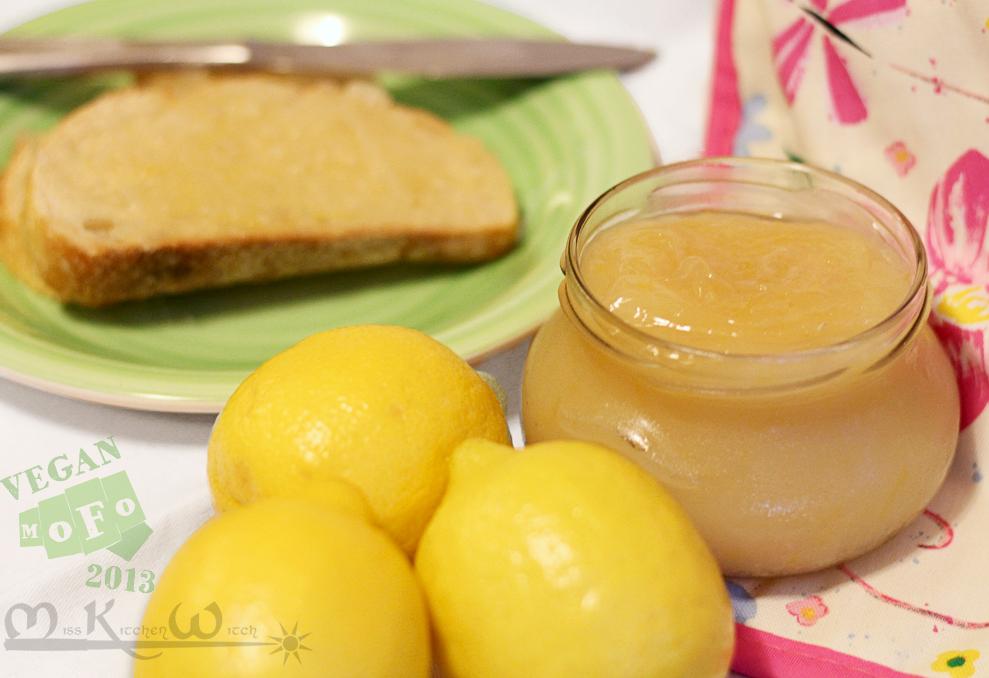 Delightful Vegan Vanilla Lemon Curd
