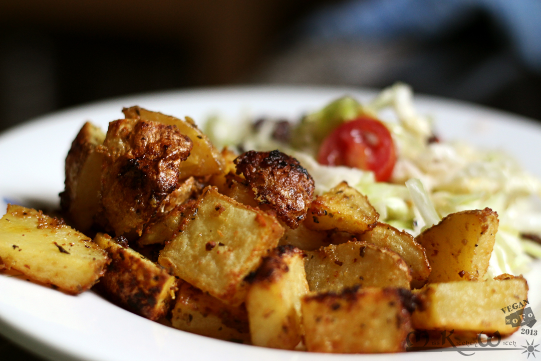 Maple-Mustard Roasted Potatoes