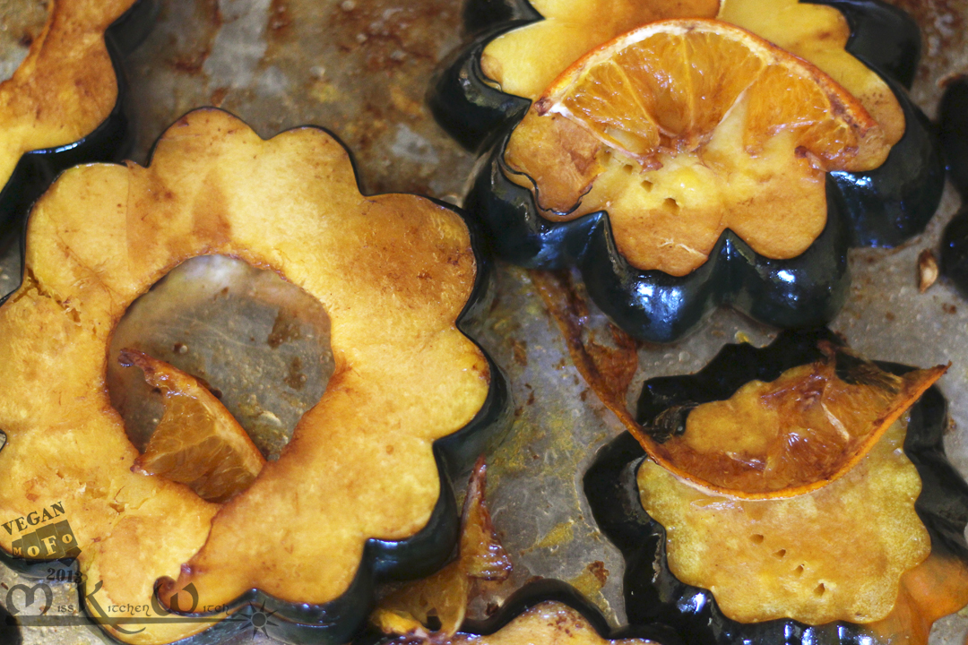 Orange-Balsamic Roasted Acorn Squash