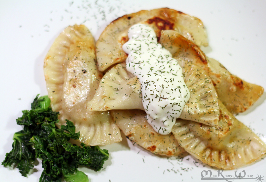 Vegan Polish Potato Pierogi
