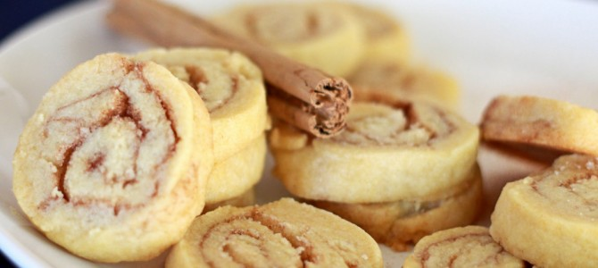 Vegan Cinnamon Roll Icebox Cookies
