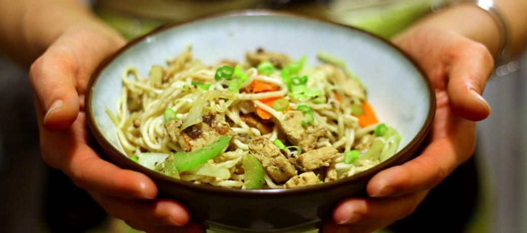 Vegan Chick'n Chow Mein