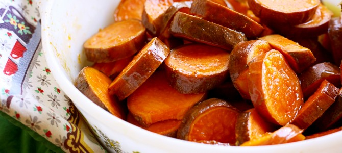 Retro Recipes: Candied Sweet Potatoes with Bitters