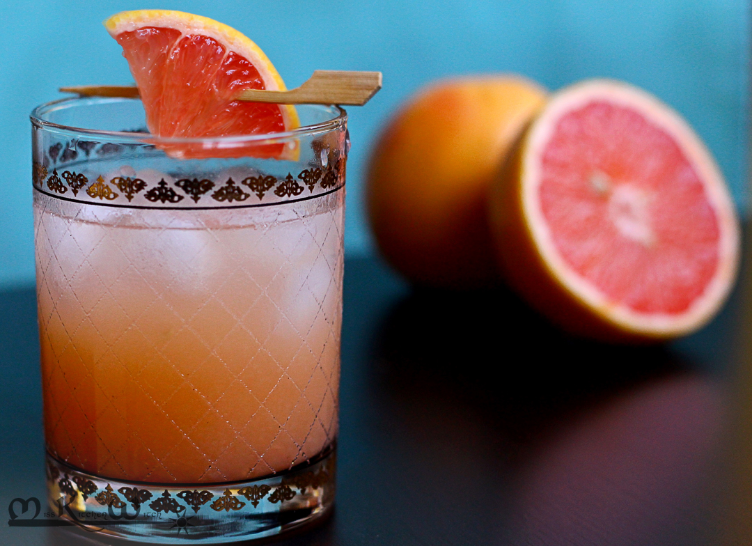 Retro Recipes: Grapefruit Greyhound Cocktail | The Miss Kitchen Witch ...