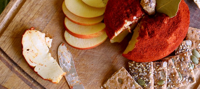 Retro Recipes: Vegan Apple Cheese Ball