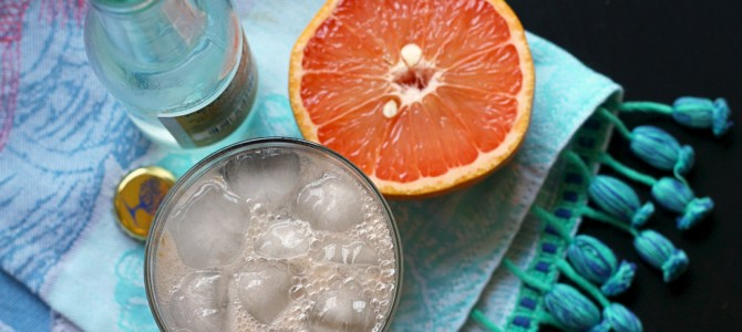 Retro Recipes: Grapefruit Spritzer