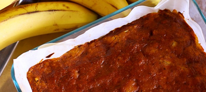 Retro Recipes: Vegan Banana Meat Loaf