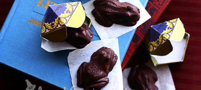 Mr. and Mrs. Flume's Magical Chocolate Frogs