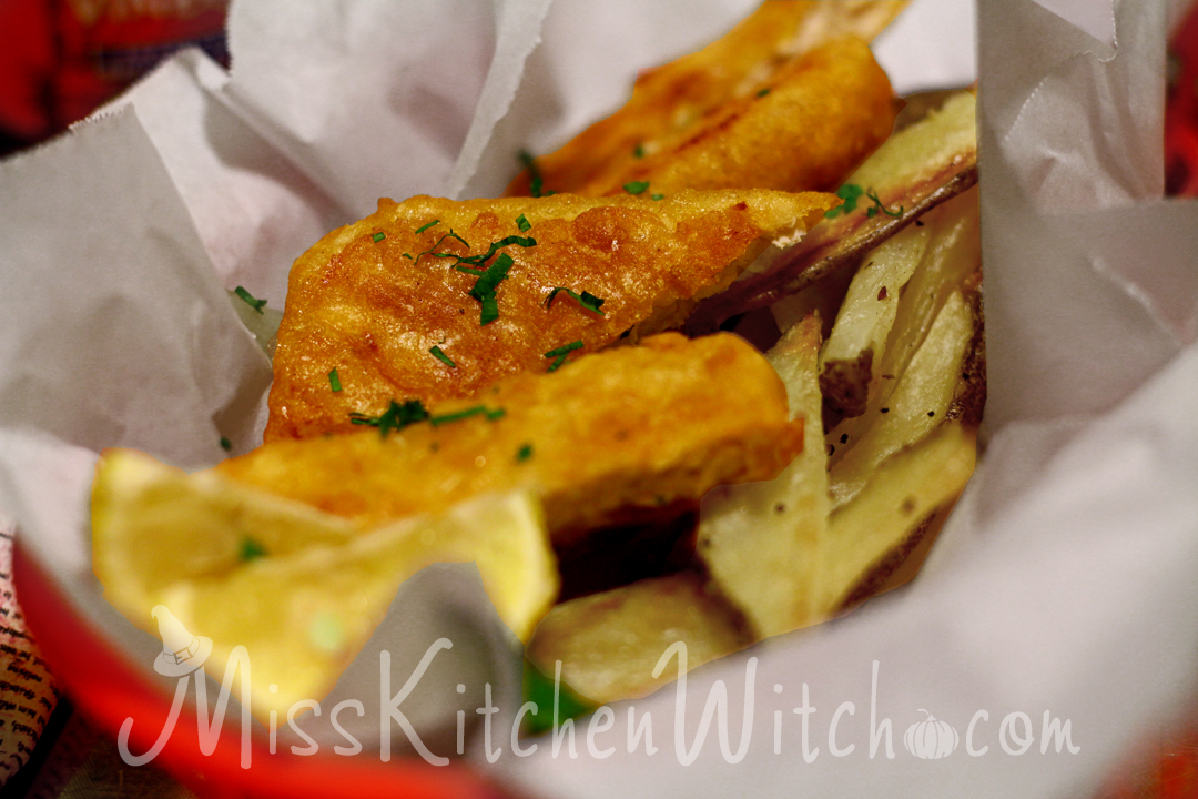 The three broomsticks vegan fish and chips the miss for Can vegans eat fish